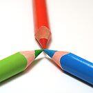 Pencils II by bubblebat