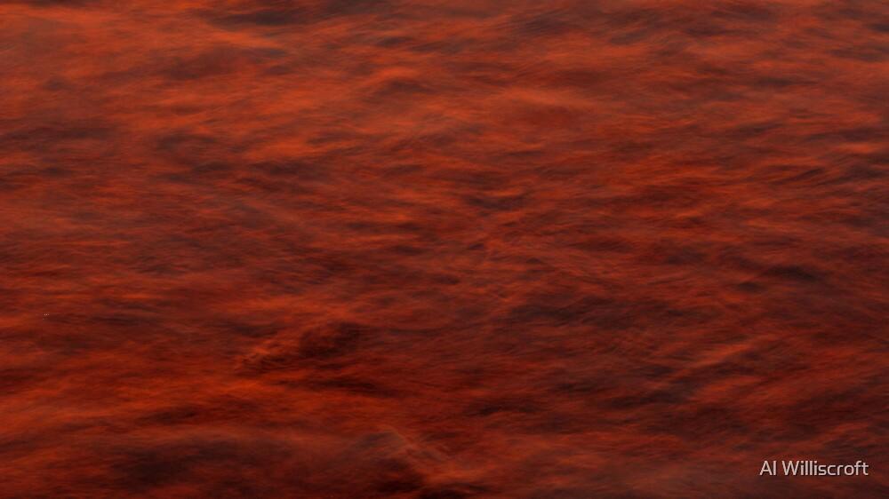 Orange Wash by Al Williscroft