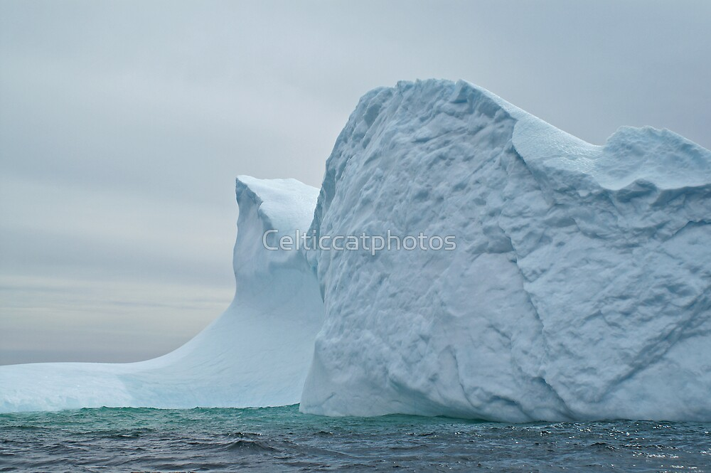 Blue Ice by Celticcatphotos