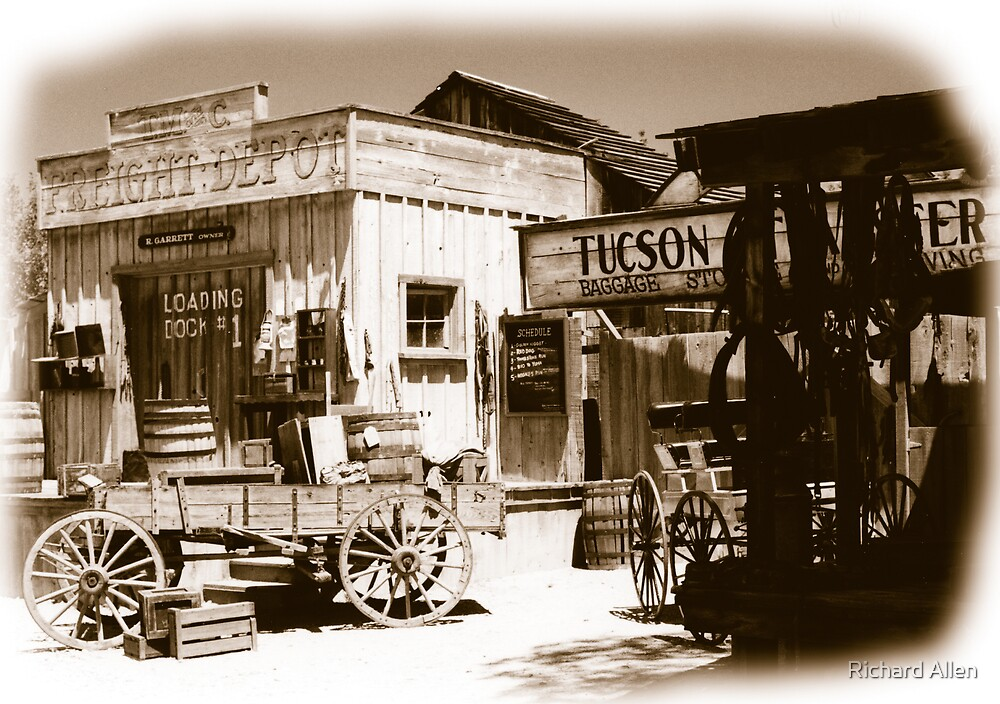 Old Tuscon Depot by Lea Valley Photographic