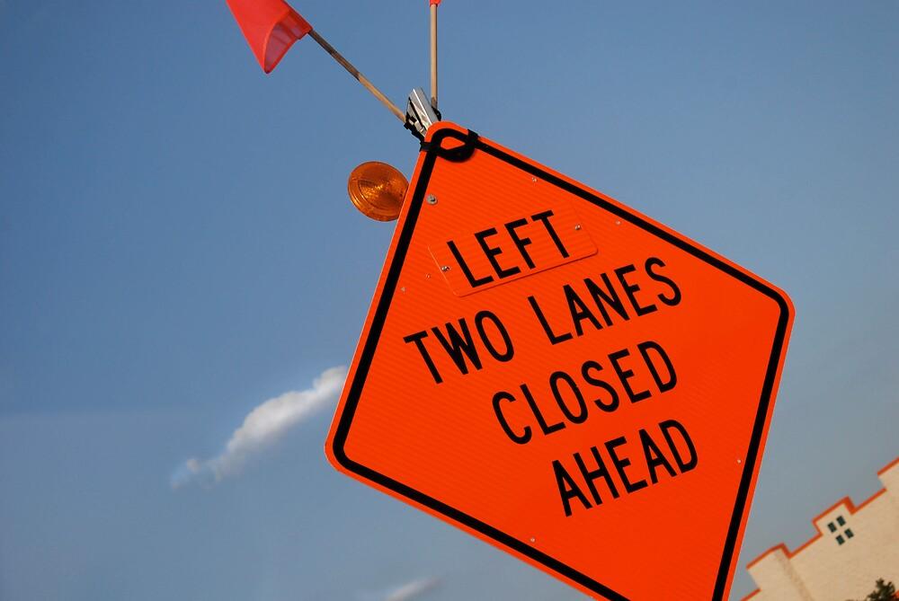 Left Two Lanes by Robert Baker