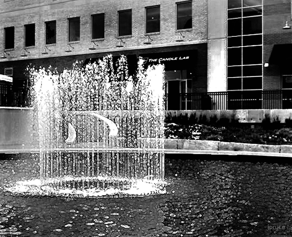 Streetside Fountain by jpryce