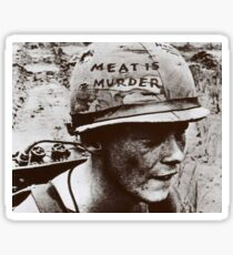 The Smiths- Meat is Murder Sticker