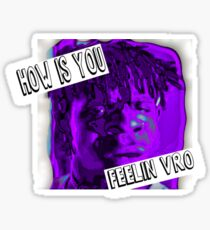 how is you feeling #3 -the slump god Sticker