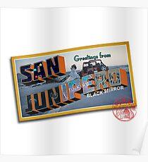 Black Mirror- San Junipero Postcard Poster