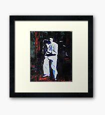 Porträt von David Byrne, Talking Heads - Stop Making Sense! Gerahmtes Wandbild