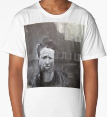 Tom Waits, What's he building in there? Painting Long T-Shirt