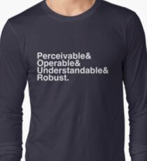 P&O&U&R. Long Sleeve T-Shirt