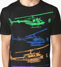 Bell Helicopter - Little to Really Big! Graphic T-Shirt