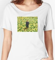 Big Fish- Daffodils Women's Relaxed Fit T-Shirt