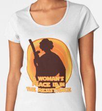 The Resistance Women's Premium T-Shirt