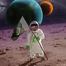 Extrasolar Pakistani Moonlander by Kenny Irwin