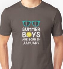 Summer Boys in JANUARY Rzrng T-Shirt