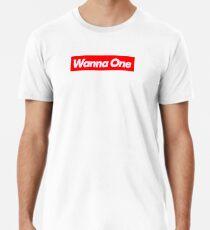 Camiseta premium WANNA-ONE (황 미현) Logotipo Supremo
