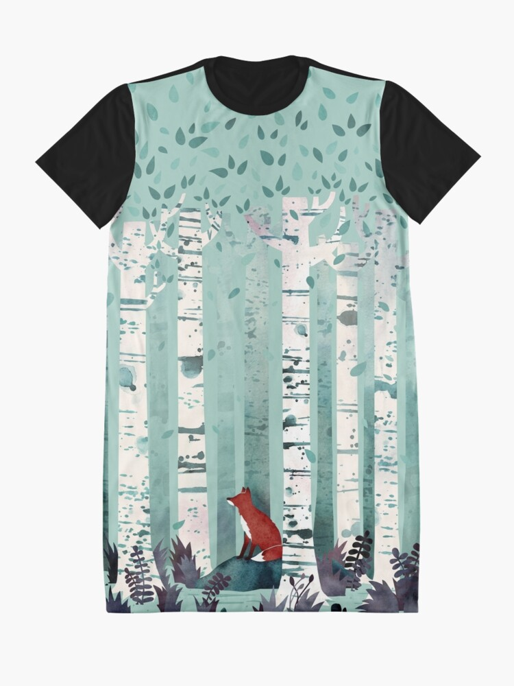 Alternate view of The Birches Graphic T-Shirt Dress