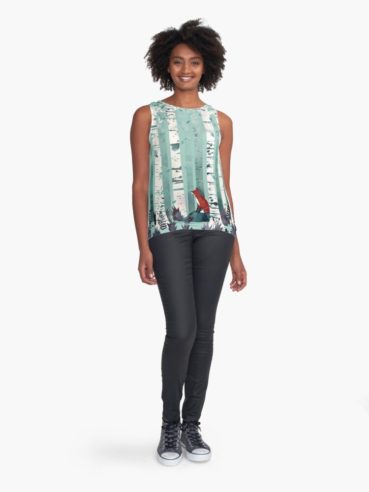 Alternate view of The Birches Sleeveless Top