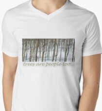 trees are people too Mens V-Neck T-Shirt