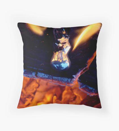 MOLTEN METAL Throw Pillow