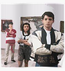 Ferris Bueller's Day Off- Art Gallery Poster