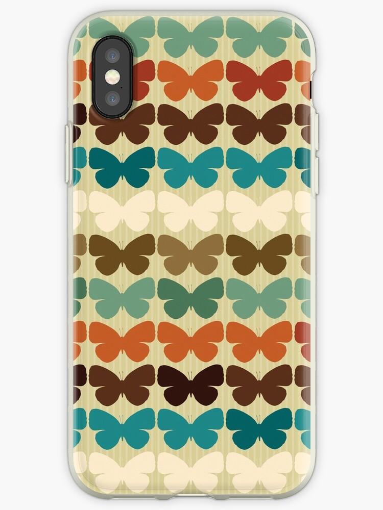 Retro Butterflies by Sandi Tyche