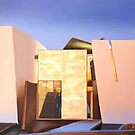 Miami beach house. Main entrance.oil painting.  by terezadelpilar ~ art & architecture
