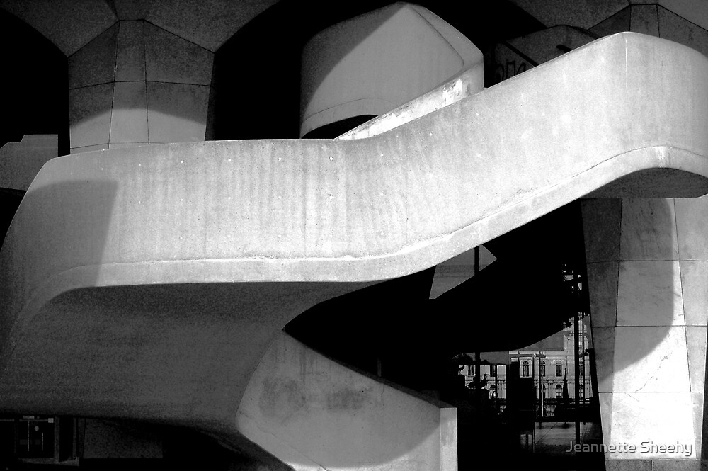 Stairway to Concrete Heaven by Jeannette Sheehy