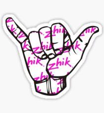 Zhik shakkas Sticker