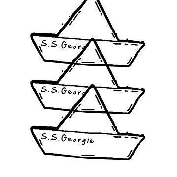 S.S. Georgie 2 (Black) by GREYEGGSGLOBAL