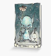 The Hermit Imp Greeting Card