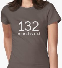 Funny 132 Months Old 11th Birthday Geek Gift T-Shirt