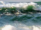 beach waves. Sintra.  by terezadelpilar ~ art & architecture