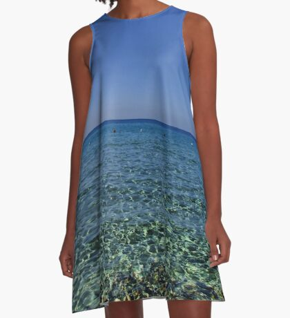 Acqua Sarda A-Line Dress