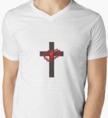 A Blood Donor Saved My Life Jesus Cross Christ T-Shirt  T-Shirt