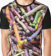 Crayons and Depth of Field Yum Graphic T-Shirt