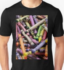 Crayons and Depth of Field Yum Unisex T-Shirt