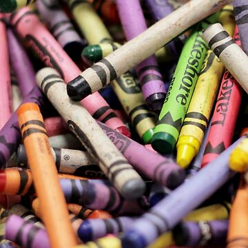 Crayons and Depth of Field Yum by photolodico