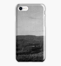 Landscape Between Carephilly and Rudry iPhone Case/Skin