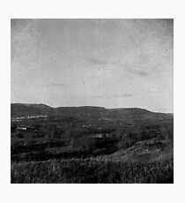 Landscape Between Carephilly and Rudry Photographic Print