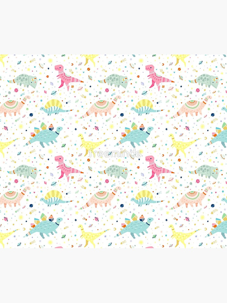 Dinosaur Pattern by freeminds