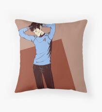 Spirk Throw Pillow