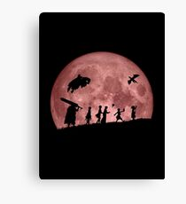Fellowship of the Berserk (moon version) Canvas Print