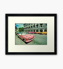 Mostly convertibles  Framed Print