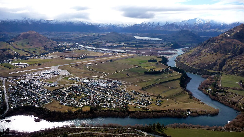 Queenstown Airport by Magee