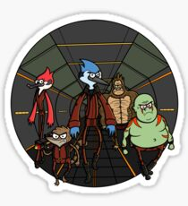 Guardians of the Regular Galaxy Sticker