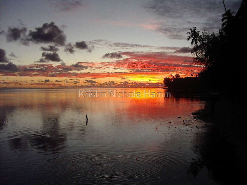 Tahitian Sunset by Kristin Hamm
