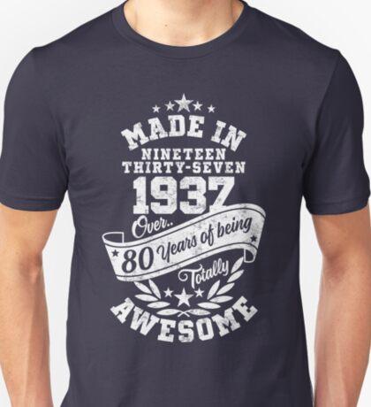 Made in 1937 - über 80 Jahre absolut fantastisch T-Shirt