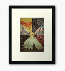 Fallout 4 Graphic Poster  Framed Print