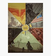 Fallout 4 Graphic Poster  Photographic Print