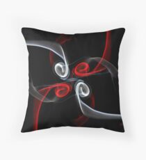 Red & White Throw Pillow