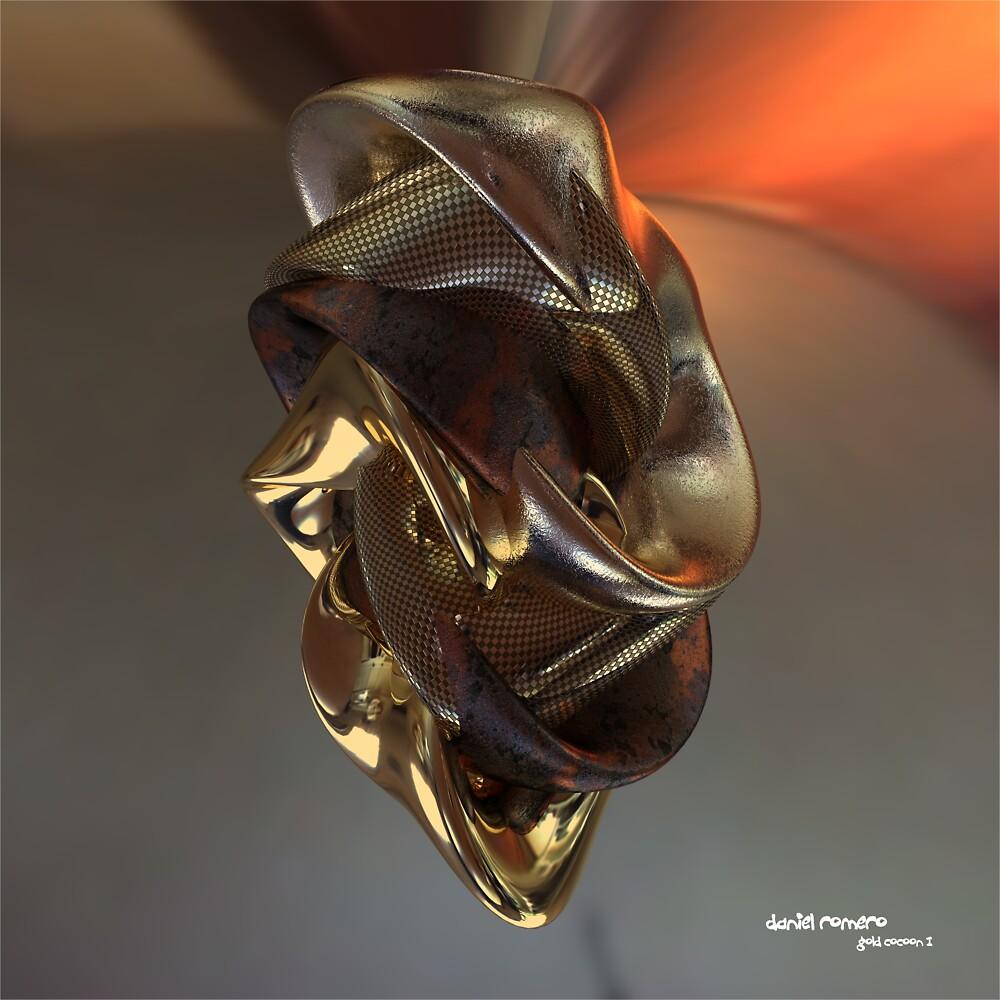 Gold Cocoon I by Daniel Romero